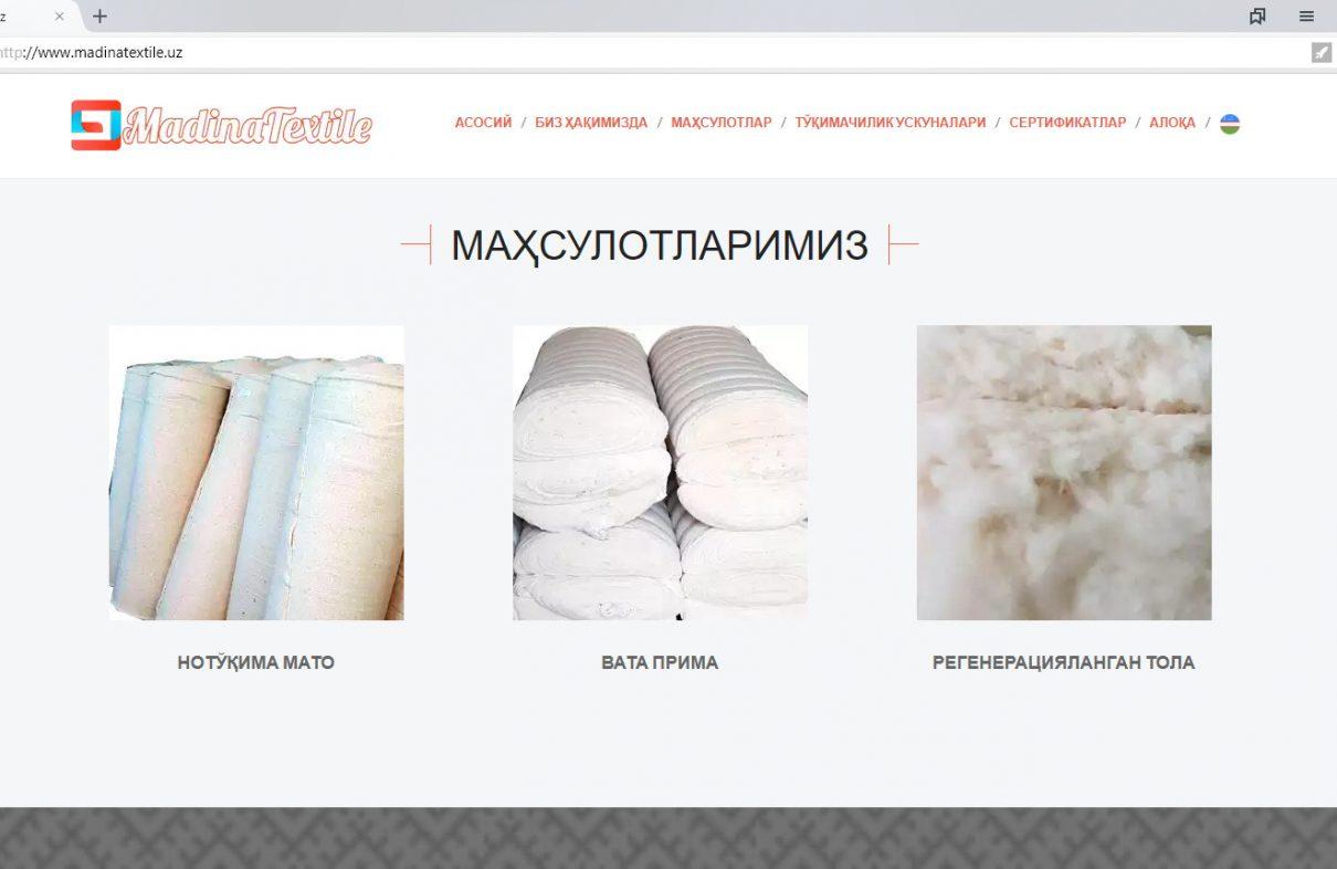Madina Textile.uz